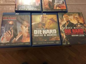 DIE HARD Collezione Completa 5 Blu Ray come Nuovi