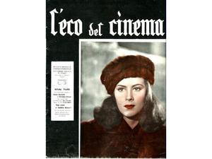 L'eco del Cinema Alida Valli rivista del