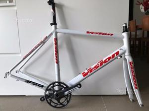 Telaio Bici da corsa + Corona  come nuovo
