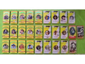 VHS Blocco 28 film in video cassetta genere gialli A.