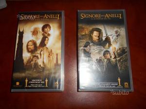 """2 Cassette VHS """"Il Signore degli anelli"""""""