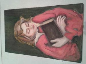 2 quadri olio su tela