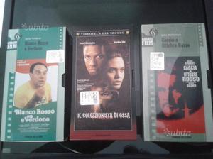 3 videocassette originali