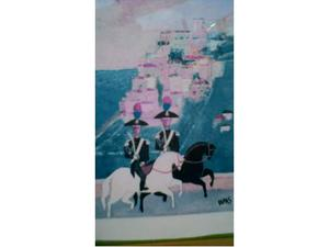 Carabinieri a cavallo maestro pittore Dipas anni