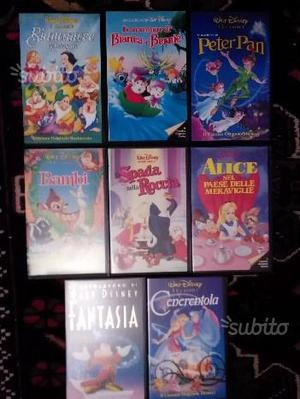 Cartoni animati Walt Disney VHS