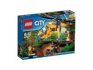 LEGO  CITY - ELICOTTERO DA CARICO DELLA GIUNGLA