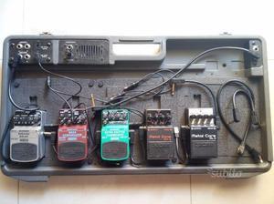 Pedaliera + pedali vari