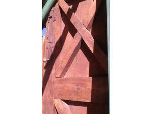 Portoni fine 800 di legno di castagno