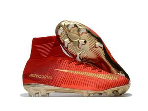 Scarpe nike mercurial superfly fg cr7 champions red