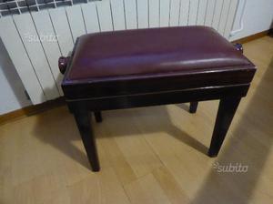Pianoforte verticale boisselot con sgabello u ac dal