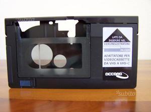 Adattatore per videocassette VHS VHS-C