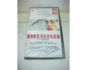 Alambrado film vhs videocassetta ex nolo video cassetta rara
