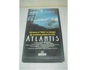Atlantis Luc Besson film ex nolo noleggio vhs videocassetta