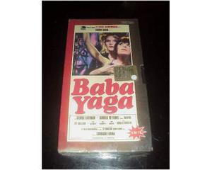 BABA YAGA raro film cult videocassetta vhs