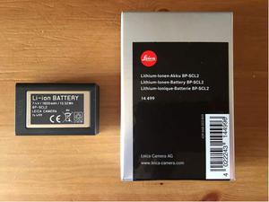 Batteria leica originale bp-scl2 per leica m typ 240 e 262