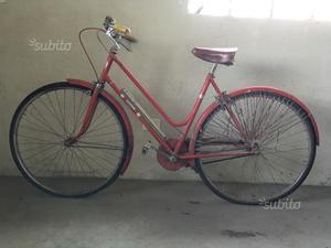 Bicicletta anni 60 da donna AOSTA