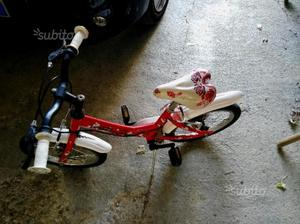 Bicicletta bimba 4-6 anni in buono stato