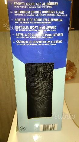 Bottiglia sport termica in alluminio NUOVA