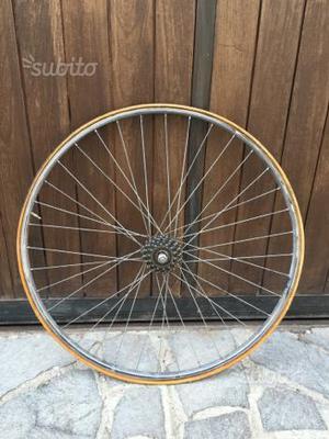 Cerchio posteriore bici corsa vintage da 28