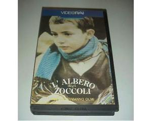 L'ALBERO DEGLI ZOCCOLI Vhs film ex nolo noleggio rarissimo
