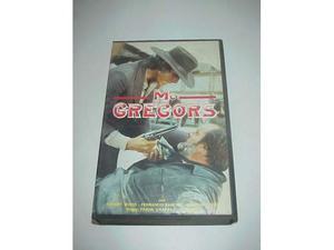 McGregors film vhs videocassetta video cassetta ex nolo