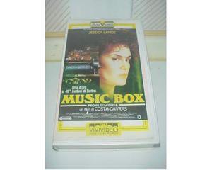 Music Box film vhs videocassetta ex nolo noleggio
