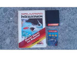 Shark shark - videogames mattel intellivision - come nuovo