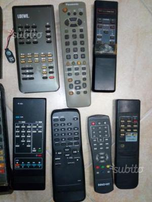 Telecomandi tv, radio, hi-fi, cd