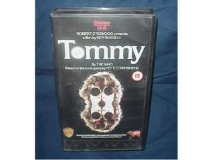 Tommy Ken Russell film in videocassetta vhs ex nolo noleggio