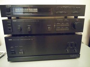 Yamaha tuner t-500/pre c-40/finale m-40