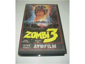 Zombi 3 vhs videocassetta film ex nolo noleggio video raro