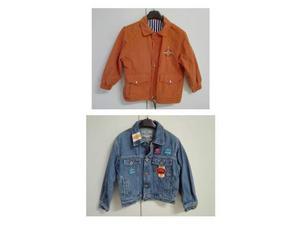 2 giacchetti da bambino taglia 4 anni