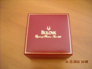 BULOVA scatola box per orologio