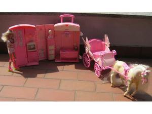 Letto Carrozza Cenerentola : Carrozza slitta con cavallo barbie azeglio posot class