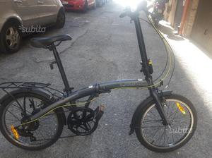 Bici Pieghevole Bfold 7.Bici Pieghevole Bfold 7 Decatlhon Posot Class