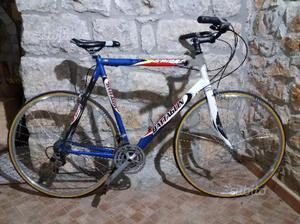 Bicicletta alluminio e carbonio 28