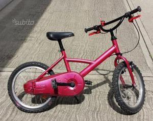 Bicicletta per bambina Btwin perfetta riverniciata
