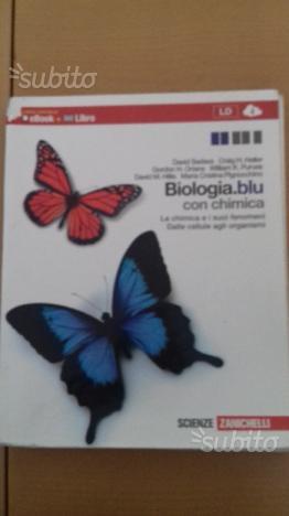 Biologia blu con chimica