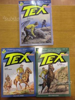 Blocco n. 3 volumi Tex Stella d'Oro