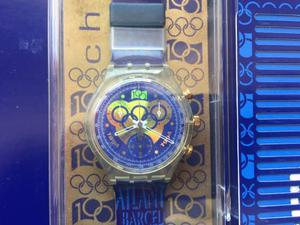 Chrono Swatch 100 anni Olimpiadi nuovo