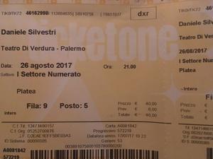 Daniele Silvestri - Concerto  - Palermo