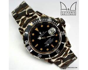 F.A.D.1 Rolex Submariner  DLC PVD Camouflage