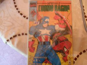 Fumetto speciale capitan america e uomo ragno