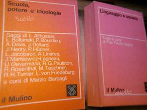 Libri Sociologia e scuola autori vari