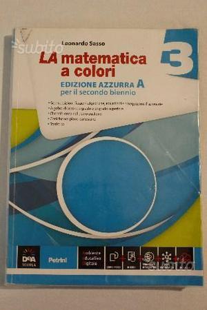 Libro matematica superiori