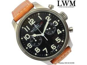 RAID Philipp Huber  chronograph Flieger Pilot Full Set