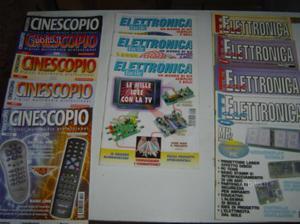 Riviste e libri di elettronica