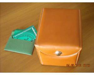 Underwood scatola carica orologi Rotobox in pelle pregiata
