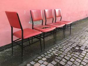 4 sedie vintage anni
