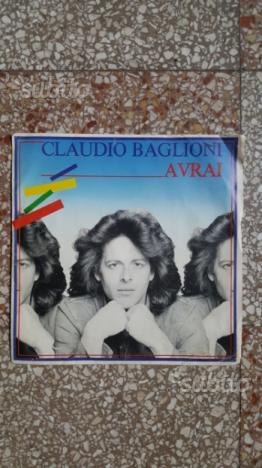 """Cd vinile claudio baglioni """"avrai"""""""